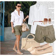 340. Celebrity Styles : Kourtney Kardashian (07.08.2011), created by valdete on Polyvore
