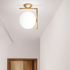 Lighting Design // modern wall + ceiling light // IC LIGHT C/W by Michael Anastassiades Wall Sconce Lighting, Home Lighting, Modern Lighting, Wall Sconces, Lighting Design, Modern Lamps, Lighting Ideas, Track Lighting, Lampe Spot