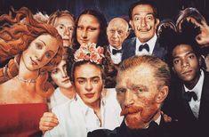 van gogh e monalisa Mona Lisa, Vincent Van Gogh, Murciano Art, Art Du Collage, Art Collages, Frida Art, Photocollage, Ex Machina, Arte Pop