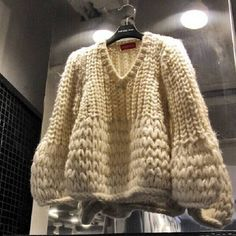 Neploe Autumn Winter V-neck Fashion Sueter Mujer Long Sleeve Hollow Out Solid Women Sweater Loose Casual Pullovers 68403 - Knitwear Fashion, Cardigan Fashion, Knit Fashion, Fashion Blouses, Loose Sweater, Long Sleeve Sweater, Knitting Designs, Sweaters For Women, Formal