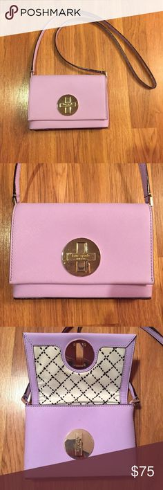 Kate Spade Lilac Purse Barely used great condition kate spade Bags Crossbody Bags