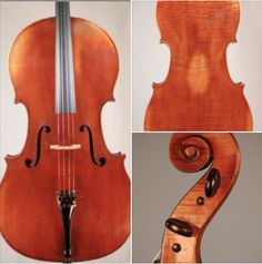 A very fine 1860 #cello crafted by Charles Plumerel is available for examination and trial.