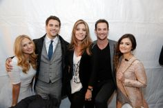 Vanessa Ray, Brant Daugherty, Andrea Parker, Ryan Merriman and Lucy Hale