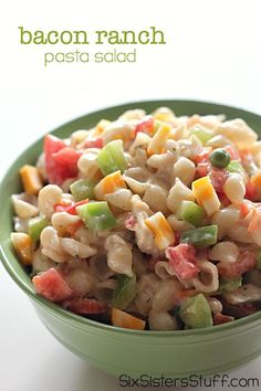 Tortellini Pasta Salad with Tomatoes Basil and Fresh Corn ~ a perfect summer…