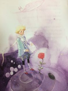 Beautiful Korean edition of the Little Prince