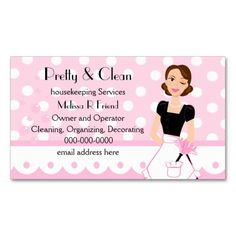 273 best cleaning business cards images on pinterest cleaning pretty and clean appointment card colourmoves
