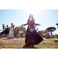 """Memories of Los Angeles cemeteries with Chelsea Wolfe."""