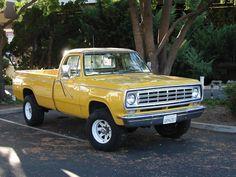 70's Dodge Power Wagon restored