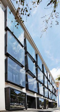 *더블 윈도우 파사드 시스템  LOVE architecture and urbanism  Karmeliterhof