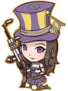 Caitlyn • League Of Legends