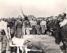 Public Whipping in the Lodz Ghetto