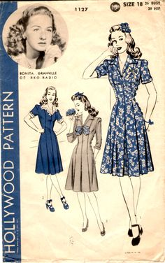 Hollywood Pattern 1127