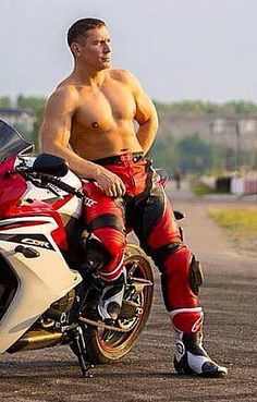 Motorcycle Suit, Motorcycle Leather, Leather Jumpsuit, Cycling Outfit, Muscle Men, Slip, Man, Leather Men, Bikers