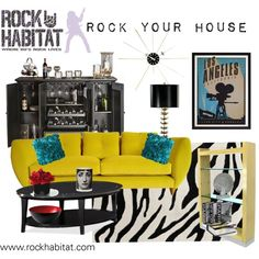 Rock Your House With Rock Star Home Decor