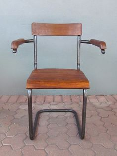 iron + wood chair | Redinfred