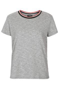 Sports Rib Tee - T-Shirts - Tops - Clothing - Topshop