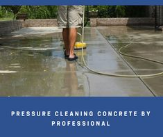Cleaning outdoor concrete is more tough than cleaning indoor cleaning. There are many cleansing products available in the market. Here you will find some effective steps for #cleaning outdoor #concrete.