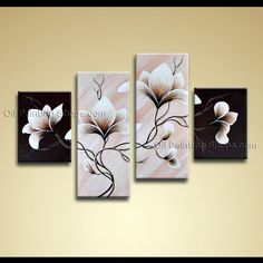 huge floral wall art