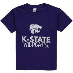 Kansas State Wildcats Youth Crew Neck T-Shirt - Purple