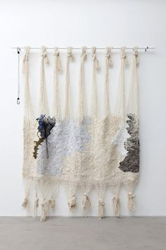 Ann Cathrin November Høibo Untitled 2014 Handwoven wool, nylon and jersey