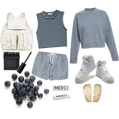 Merci Close enough to denim by musa-innovator on Polyvore featuring polyvore fashion style A.L.C. Acne Studios rag & bone NARS Cosmetics Rosanna NIKE