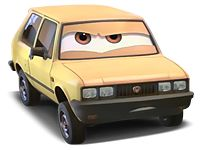 """Victor Hugo is a minor antagonist in Cars 2. """"The dreaded Victor H. is the head of the Hugo crime family. Sure he's known to break down quite often, has leaky seals and gaskets, and is still waiting on major replacement parts to get him back on the road again, but Mr. H has got Karl to haul him and Ivan to tow him wherever he needs to go. Now that he's the leader of an entire crime organization, Victor has the other Lemons shaking in their tires, and he runs the syndicate like th..."""