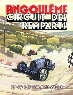 Angouleme  Circuit des Remparts 2010