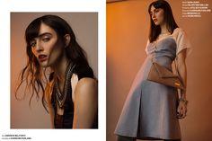 Odalisque Magazine  Photographer // Tina Picard  Fashion Stylist // Felicia Ann Ryan  MUA + Hair // Julia Crimson  Model // Monocco // Elmer Olson Felicia, Fashion Stylist, Duster Coat, Stylists, Editorial, Ann, Saree, Magazine, Model