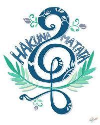 Resultado de imagen de hakuna matata symbol