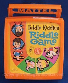 Liddle Kiddles Riddle Game