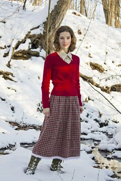 Jessica in the Snow_0034 by Boyer Family Singers, via Flickr