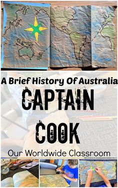 Our Worldwide Classroom: Captain Cook - A Brief History Of Australia