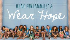 Punjammies are sari-inspired pajamas. Each pair of Punjammies are created in an after-care facility for women who have been rescued, release...