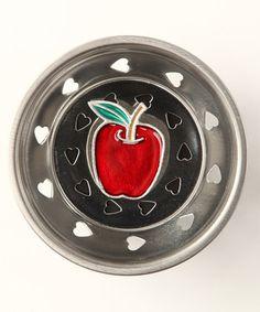 Linda Lou Apple Kitchen Sink Strainer