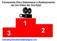 Como saber se o seu vídeo no YouTube está bem rankeado no YouTube. http://empreendedordaeradigital.com/video-no-youtube-ferramenta-para-determinar-o-ranking-de-um-video-no-youtube/