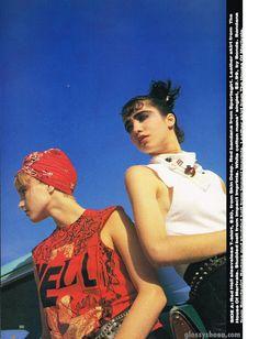 Dolly January 1986 | Maria, Imogen, Julie & Lorena