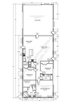Barndominium Floor Plans, Pole Barn House Plans And Metal Barn Homes    Barndominium Floor Plans