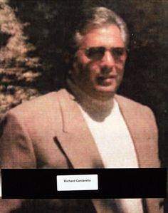 """Richard Cantarella (aka """"Shellackhead"""") (born 1944), was a New York mobster who became a caporegime for the Bonanno crime family and later a government witness."""