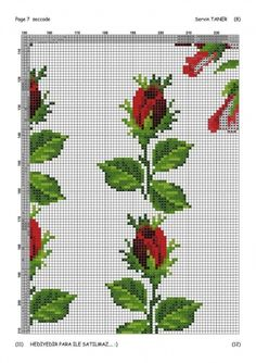 1 million+ Stunning Free Images to Use Anywhere Cross Stitch Bookmarks, Cross Stitch Rose, Cross Stitch Flowers, Cross Stitch Patterns, Seed Bead Flowers, Beaded Flowers, Hand Embroidery Designs, Beaded Embroidery, Tapestry Crochet Patterns