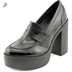 Steve Madden Women's Juniper Open Toe Black Platform Heel, Black, Size 10.0 - Steve madden pumps for women (*Amazon Partner-Link)