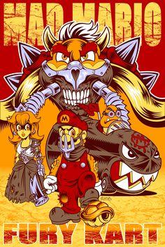 Mad Mario: Fury Kart - Created by Ryan Genovese