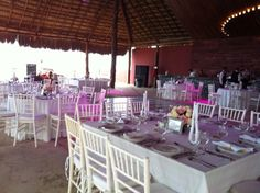 Wedding location beach front