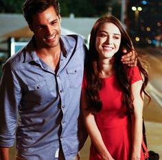 Image about love in Kiraz Mevsimi 🍒 by мина on We Heart It Cherry Season, Fox Tv, Actor Studio, Tv Couples, Tag Photo, Handsome Actors, Best Series, Turkish Actors, Girls In Love
