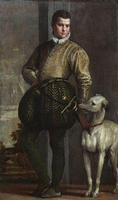 Paolo Veronese  Boy with a Greyhound, ca. 1570s  (Venetian, 1528–1588)