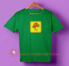 Felt Rose T-shirt #tshirt #tee #tees #shirt #apparel #clothing #clothes #customdesign #customtshirt #graphictee #tumbrl #cornershirt #bestseller #bestproduct #newarrival #unisex #mantshirt #mentshirt #womanTshirt #text #word #white #whitetshirt #menfashion #menstyle #style #womenstyle #tshirtonlineshop #personalizetshirt #personalize #quote #quotetshirt #wear #outfit #womenfashion