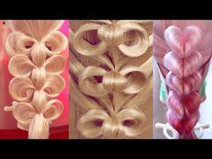 10 уроков - Необычные косы и плетения (time 26:20) - YouTube