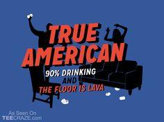 True American T-Shirt - http://teecraze.com/true-american-t-shirt/ -  Designed by Snorg Tees     #tshirt #tee #art #fashion #clothing #apparel