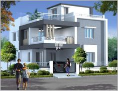 Durga Homes Phase - II offers 4 BHK Apartments/Flats upto 3000 SqFt starting at Lakhs in Chandanagar, Hyderabad. Two Story House Design, 2 Storey House Design, Duplex House Plans, Bungalow House Design, House Front Design, Modern House Design, Beautiful House Plans, Simple House Plans, Modern House Plans