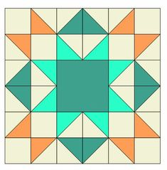 Completed Star Sampler block diagram Full color diagrams to show you how to easily make this 12 inch star sampler quilt block that can be used in a quilt or make a pillow like I did with my other star block. Vintage Quilts Patterns, Quilt Square Patterns, Barn Quilt Patterns, Square Quilt, Quilting Patterns, Paper Patterns, Dress Patterns, Star Quilt Blocks, Star Quilts