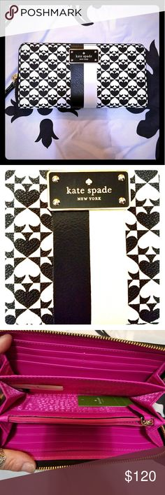 Selling this Kate Spade Wallet on Poshmark! My username is: tristinatapia. #shopmycloset #poshmark #fashion #shopping #style #forsale #kate spade #Handbags